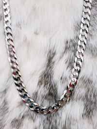 Sterling Silver Curb Chain Burnaby, V3J 1S3