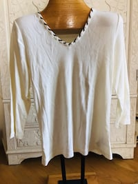 V neck 3/4 inch new shirt, size L Silver Spring, 20904