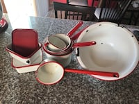 Vintage Red Enamel Wear / in great condition  Rochester, 98579