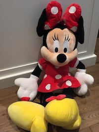 Mini Mouse 3 foot from Disney Land 533 km
