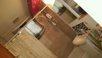 brown wooden dresser with mirror Montreal, H2R