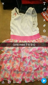 baby's white and pink dress Cedar Falls, 50613