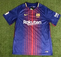 Barcelona Soccer Jersey XL . Was $ 40 Now $ 18 ( Price Not Negotiable ).New Miami, 33187