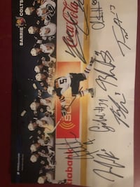 Barrie colts 13-14 season signed photo Barrie, L4N 6M8