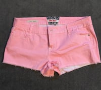 Hot kiss pink and white striped shorts Cosby, 37722