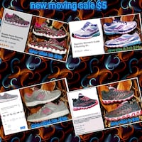 or I'll sneakers in stock men's and ladies $5 each moving sale Saturda North Las Vegas, 89031
