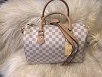 Damier ebene louis vuitton leather tote bag Santa Ana, 92704