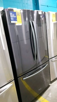 New Samsung Frenchdoors refrigerator 36x69.  Queens