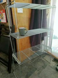 "3 stackable wire shelves, size 12""×27""×16"" Bellevue, 98005"