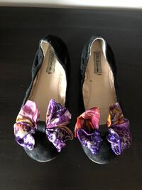Ballet bow tie Flats Size 10