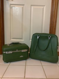 Vintage American tourister tiara train case & Carry-on bag Greensburg, 15601