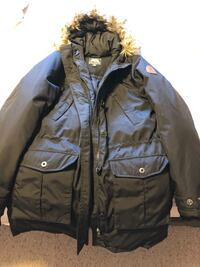 Brand new....Roots black parka for women.. best quality LaSalle, N9J 3X7