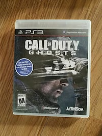 Call of Duty Ghosts PS3 game case Glendale, 91205