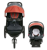 Graco Baby Travel System Stroller and Car Seat Oakville, L6H 5M1