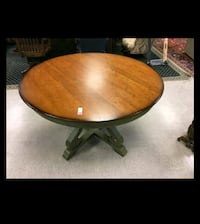 Pier 1 Round Dining Table - solid wood Fairfax Station, 22039
