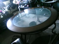 Glass coffee table Calgary, T2E 5W6