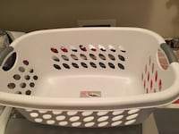 Large plastic laundry basket Port Coquitlam