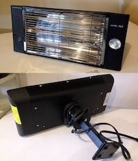 Airworks Ceiling-Mounted Workshop Heater with Halogen Lamp   Calgary