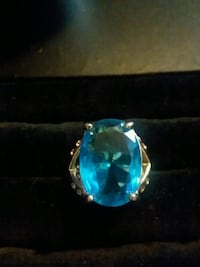 #3. Sterling silver ring size 8 Anderson