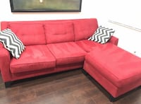 Cindy Crawford Home Madison Place Cardinal 2 Pc Sectional Cutler Bay, 33189