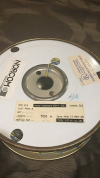 Spool of cross connect wire 563 km