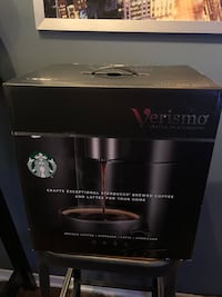 Brand new in box Starbucks Verismo Toronto, M4Y