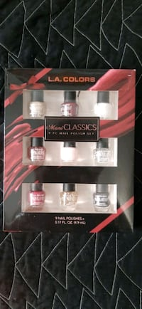 L.A. Colors 9-piece Nail Polish Centreville, 20121