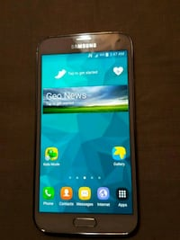 white Samsung Galaxy android smartphone Mississauga, L4Y 3X6