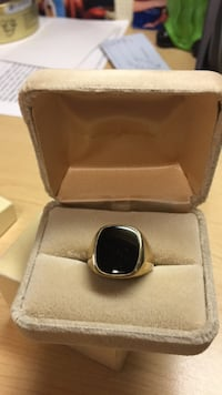 Ring Black Onyx & Gold Frederick, 21703