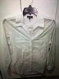 Lord & Taylor multi color button down collared shirt NWT sz medium