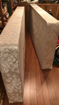 2 Box Spring Mattresses Mississauga, L5H 4E8