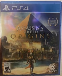 Ps4 assassin's creed origins  Montréal, H3W 1P7