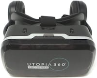 Utopia 360 Virtual Reality 3D Headset with Built-in Headphones Brampton