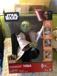 Star wars talking Yoda and more giant size still in box King of Prussia, 19406