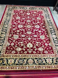 Brand new area rug size 5x8 nice red carpet Persian style rugs Burke, 22015