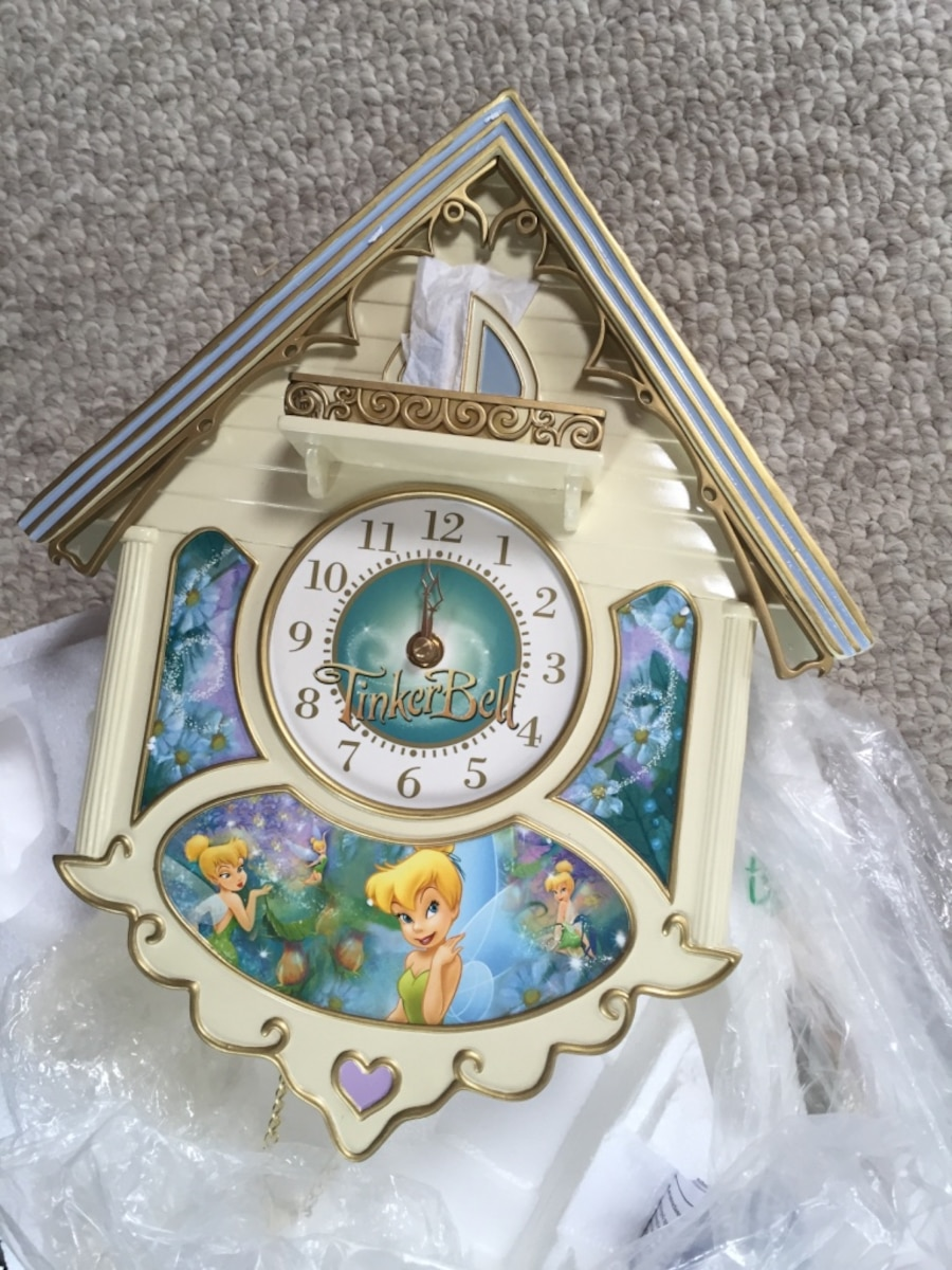 Disney tinkerbell cuckoo clock in lombard letgo more info amipublicfo Image collections