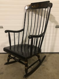 Black and brown wooden rocking armchair Rockville, 20853