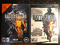 PC Games - Battlefield Bad Company 2 and Battlefield 3 ( both LE ) Toronto, M4A 1K8