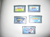 four Nintendo DS game cartridges Toronto