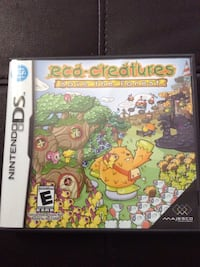 Eco-creatures nintendo ds game Ridley, 19094