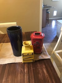 Group of 3 vases.  All3 for 8.00 Chandler, 85225