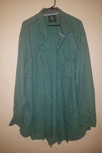 4XL Green flannel shirt Billings, 59101