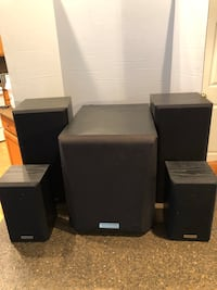 Kenwood Subwoofer With 4 Speakers $50 for all Manassas, 20112