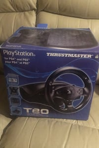 Thrustmaster Wheel & Pedals for PS3 and ps4