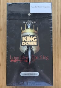 King Down and Expansion Boardgame