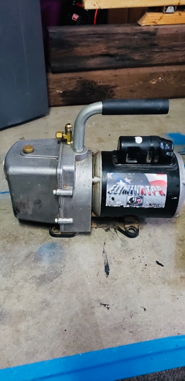 JB Industries- CFM Vacuum pump