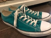Men's converse ~ size 12 ~ mint shape Surrey, V4N 6A2