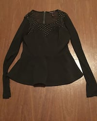 Long Sleeved Meshed Top