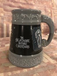 Nightmare Before Christmas Ceramic Tankard Mug