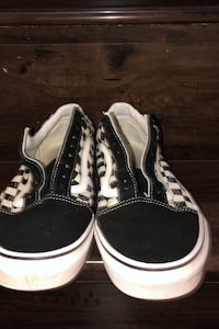 Vans checkers  with laces  Mississauga, L5C 1M5